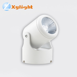 adjustable white clothes shop store cob led light fixture spotlights led ceiling wall lighting spotlight
