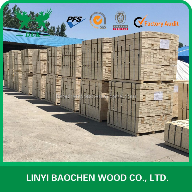 High quality construction white wood, pine packing lvl, melamine glue full poplar lvl wood
