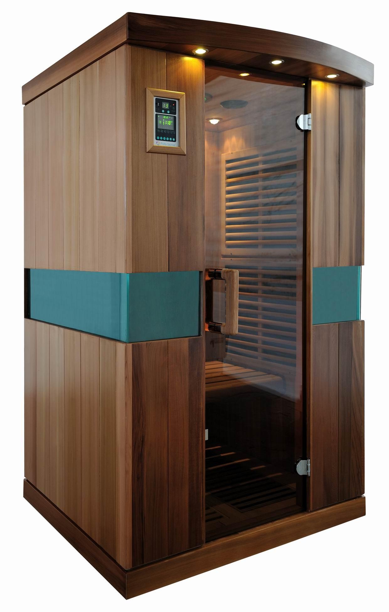Infrared Sauna With Salt Wall In Nh Hotel Zandvoort The: New Zero Emf Carbon Nano Infrared Sauna Heater Far