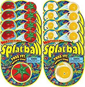 Ja-Ru Splat Ball Party Favor Bundle Pack