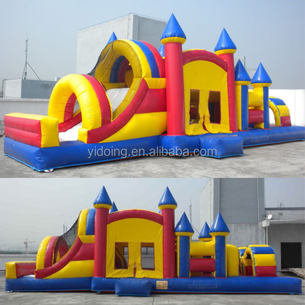 Inflatable Bouncers Hot Inflatable Bouncers Durable Commercial Inflatable Obstacle Bounce House Vivid And Great In Style