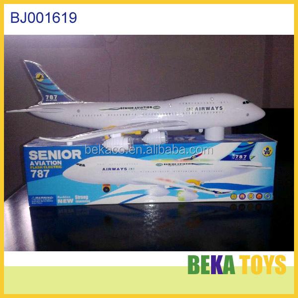 Best Kids Toy Plastic Passenger Plane Model New Electric Airplane ...