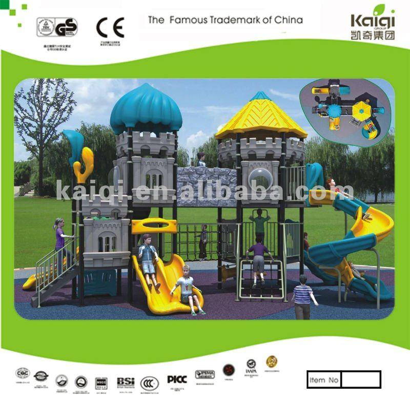 Aggiornato kaiqi castelli serie di plastica per esterni for Cancelletto bambini da esterno