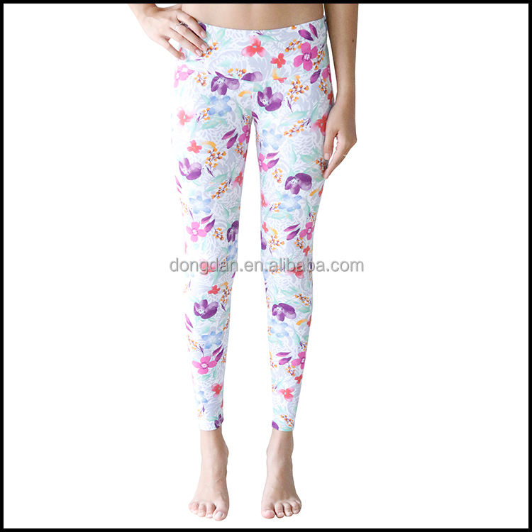 Wholesale fashion tight Womens flower Print Skinny Pants or leggings