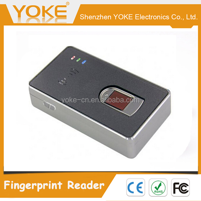 BRT1012 Free SDK USB Bluetooth Fingerprint Reader with Battery and IC card reader for all samrt phones