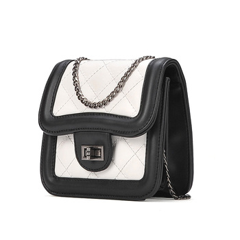 7de65c2899 Classical Design Lingge Sling Bag High Quality Elegant Lady Small PU Leather  Brand Crossbody Bag