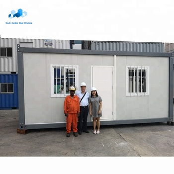 fast assembly customized modular container prefabricated house in Singapore