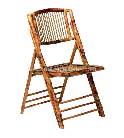 hotsale high quality outdoor bamboo folding chair