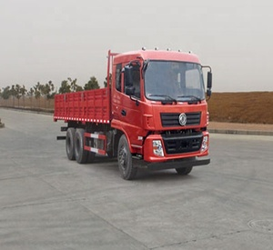 Fullwon Double rear axle dongfeng cargo truck with long cargo for sale