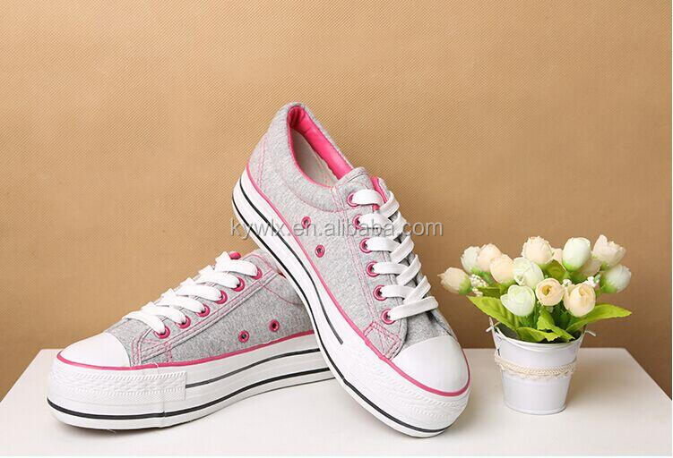 Hottest Vulcanized Thick Rubber Sole Walking Canvas Shoes with OEM&ODM Service Available from Chinese Market