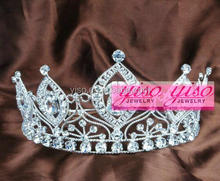cheap princess fashion crystal pendant tiara