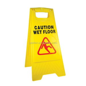 Hotel Display Caution Wet Floor Warning Sign Stand/board