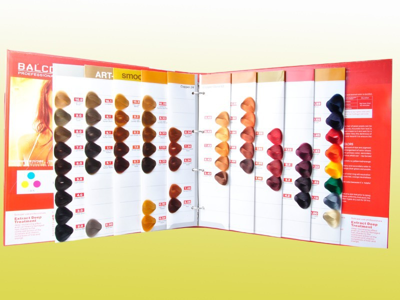 Hot Sale Products High Quality Hair Color Chart Sample - Buy High