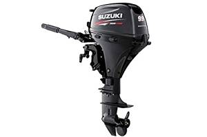 "Suzuki 9.9 HP EFI 4-Stroke Outboard Motor Tiller 20"" Shaft Electric Start"