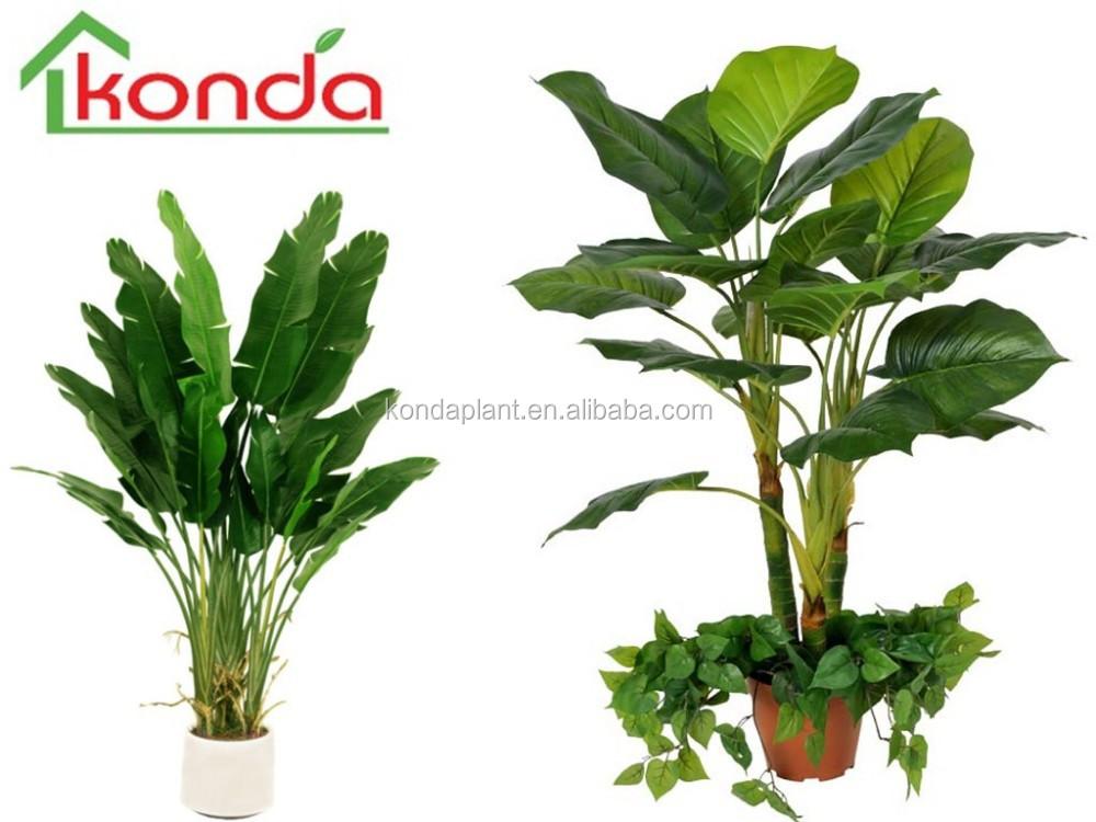 Cheap Artificial Banana Bonsai Tree Plant,Home Decor Artificial ...
