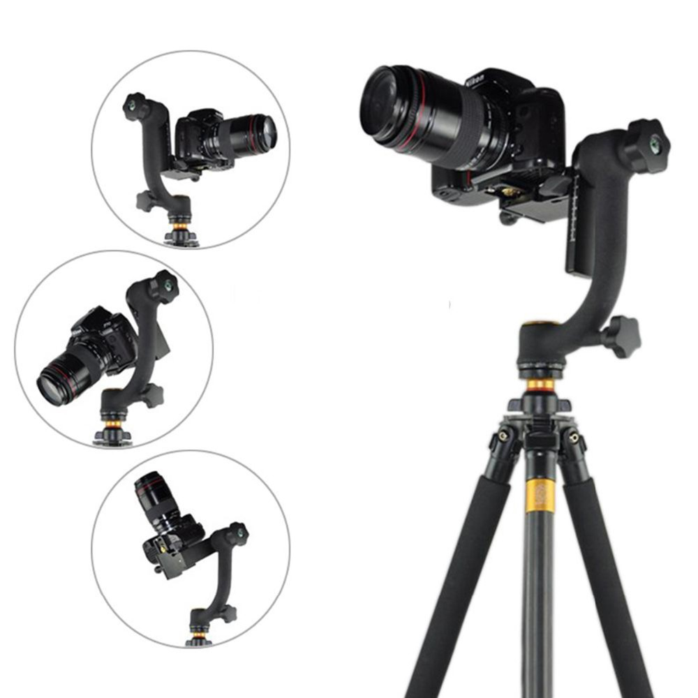 Meikon Professional Panoramic 360 Degree Vertical Gimbal Tripod Head ...