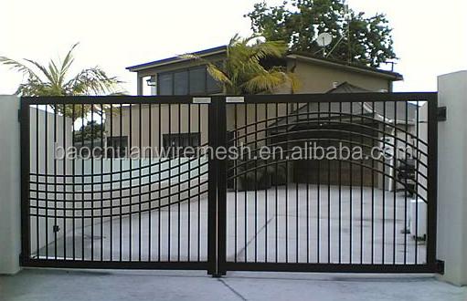 alta seguridad y equilibrar bien galvanizado puertas de acero diseo de la parrilla - Rejas Modernas
