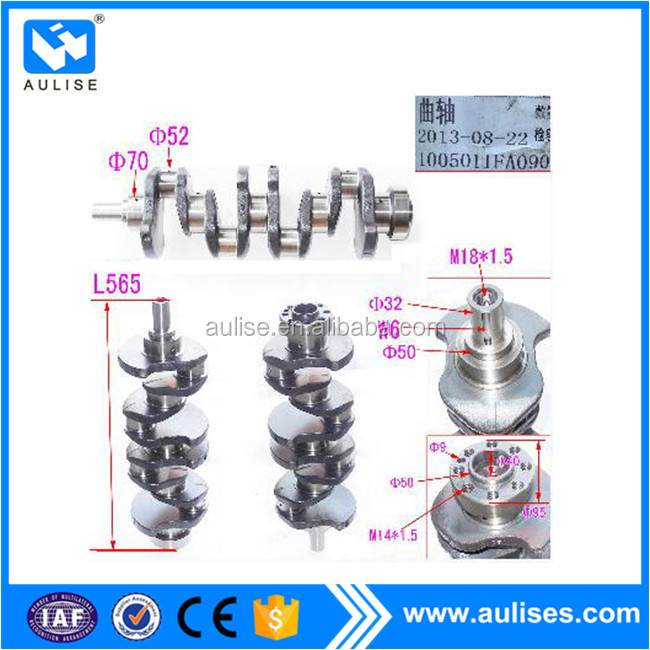 1005011FA090 new crankshaft for JAC HFC1040 TRUCK SPARE PARTS