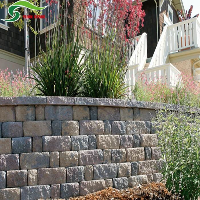 Villa muro de contenci n protecci n de taludes bloques de for Muro de contencion precio