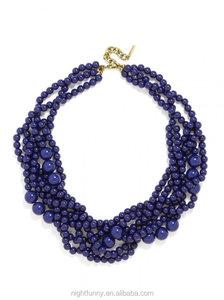 Baublebar Bold Beaded Strands necklace,a lush multi-strand  necklace,Bubblestream Collar necklace