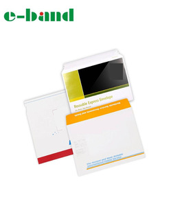 Customized printed Rigid express Cardboard Envelopes for mailer