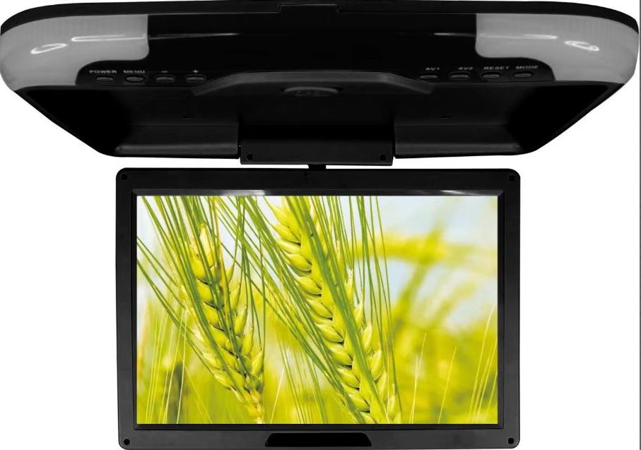 Korean popular 12inch digital high screen bus car USB SD support MP5 roof mount tv lcd monitor