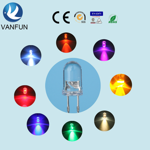 led components 5mm 12v high power led diode price list