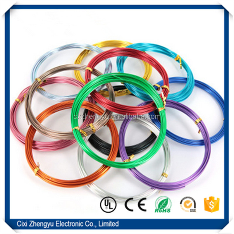 Colored Aluminum Wire For Jewerly/Copper Wire For Decoration/Jewelry Wire For Necklace