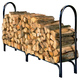 Deluxe outdoor firewood log rack,fireplace tools