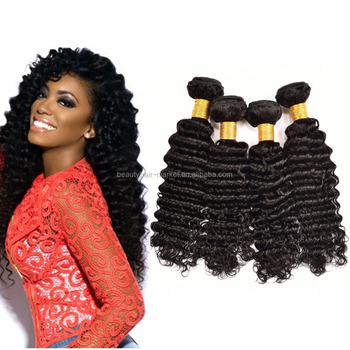100% Unprocessed Virgin Malaysian Hair natural hair extensions deep weave Malaysian virgin hair