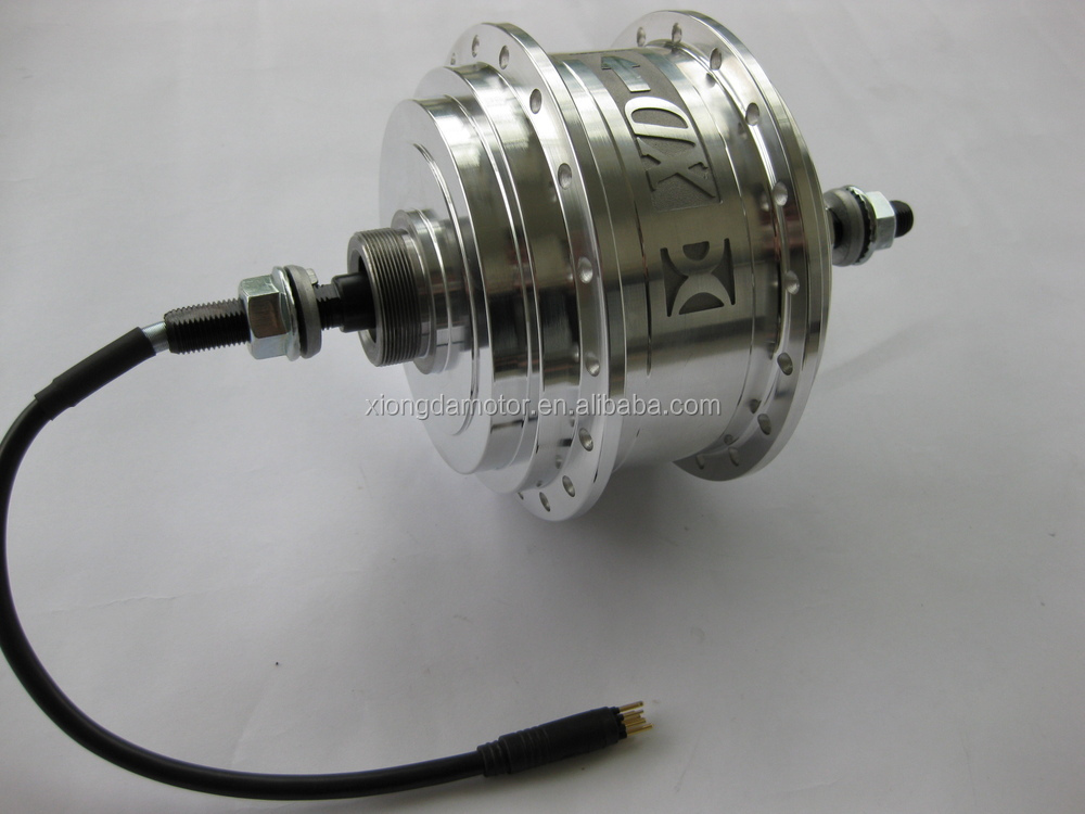 Xiongda 2 speed motor electric bicycle motor view rear for Two speed electric motor