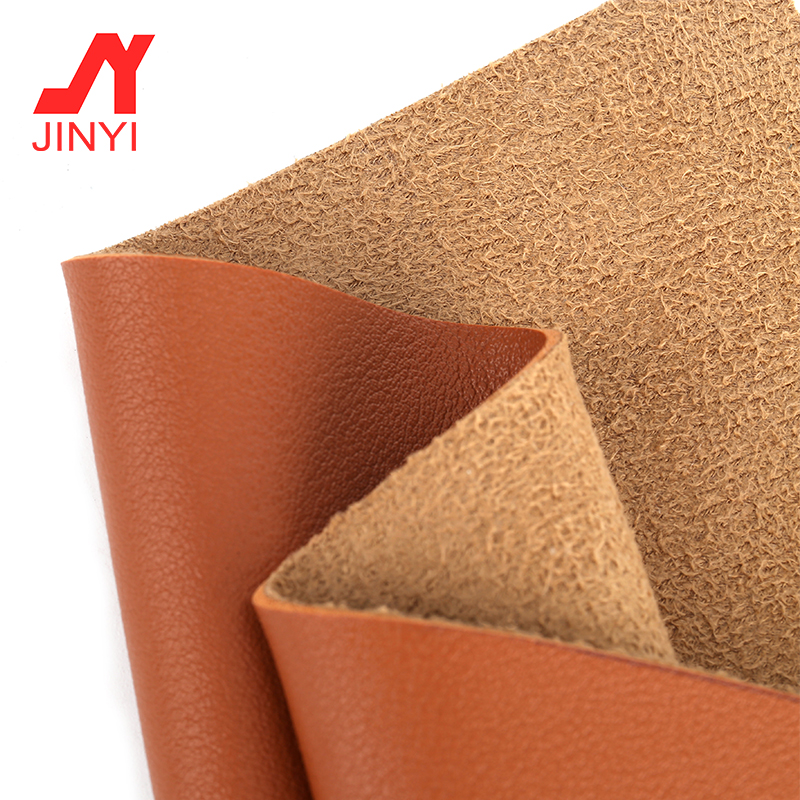JINYI China Manufacturer Cheap Machine Printing Embossed Price Meter Pvc Artificial Leather For Bag