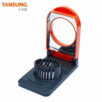 Kitchen Gadgets Tools ABS Mini Boiled Egg Slicer