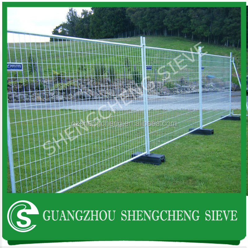 Removable Fence outdoor security fence wood plastic composite removable fence