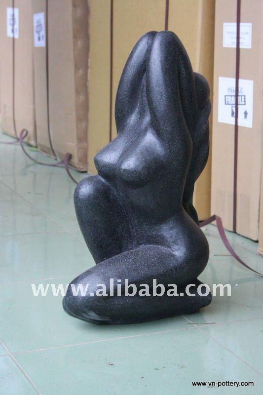 gros terrazzo statues femmes corps f minin statue. Black Bedroom Furniture Sets. Home Design Ideas