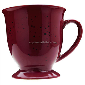 New enamel coated coffee mugs and cups Chinese enamelware wholesale