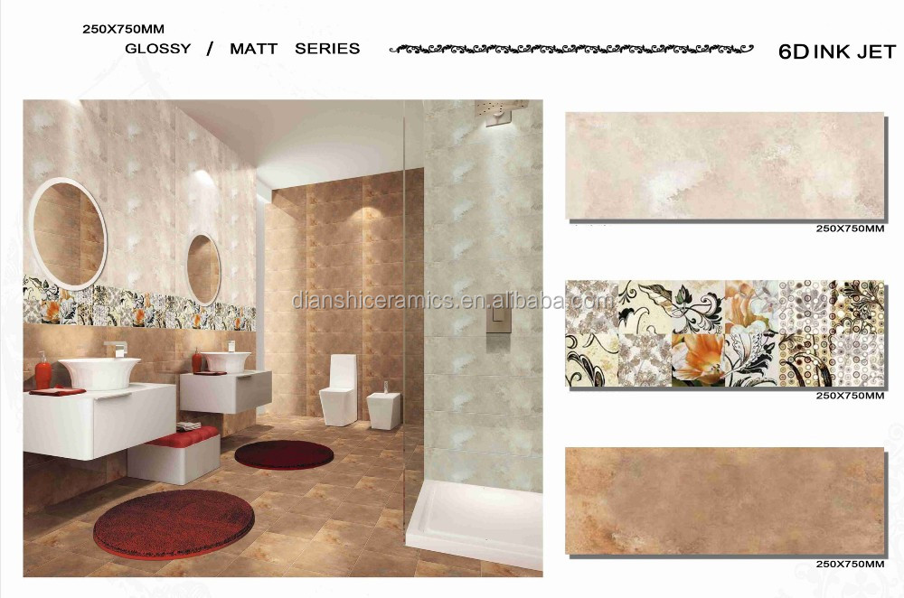 Piastrelle di ceramica per bagno magazzino lotto di piastrelle del