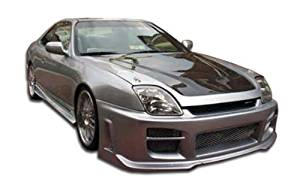 1997-2001 Honda Prelude Duraflex R34 Body Kit - 4 Piece - Includes R34 Front Bumper Cover (101850) Spyder Rear Bumper Cover (101839) Spyder Side Skirts Rocker Panels (101840)