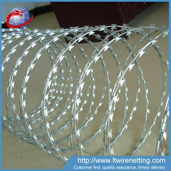 Factory Price Boundary Security System Razor Wire Fence