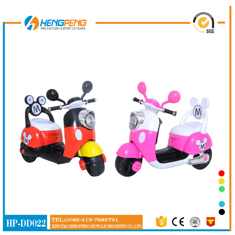 More popular Mikey design kids ride on electric power kids motorcycle bike