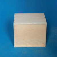 Square White Cardboard Gift Box Wooden Box Packing Box With Lids
