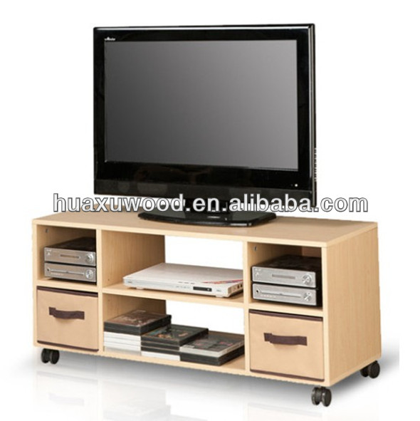 HX-MZ397 movable maple TV cabinet with drawer