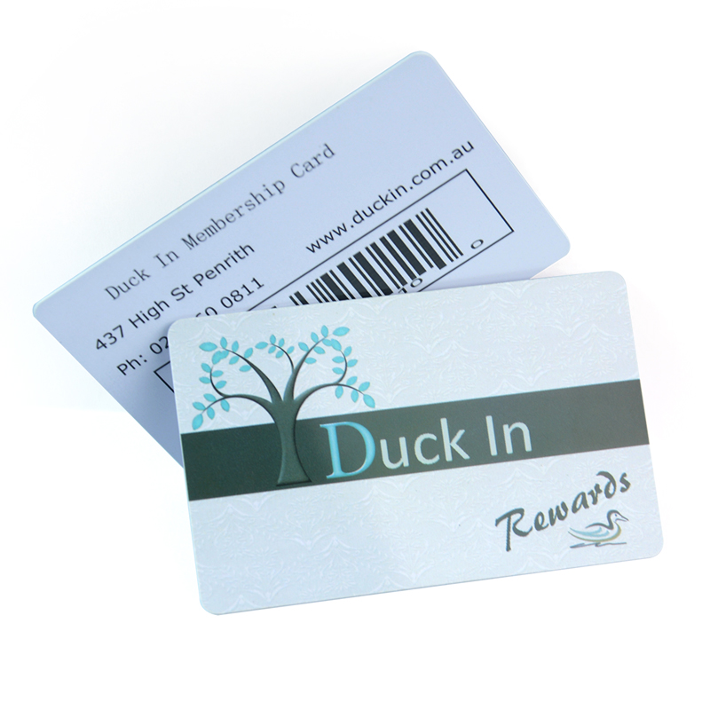 Wholesale Price Credit Card Size Full Color Rewards Card Printing ...