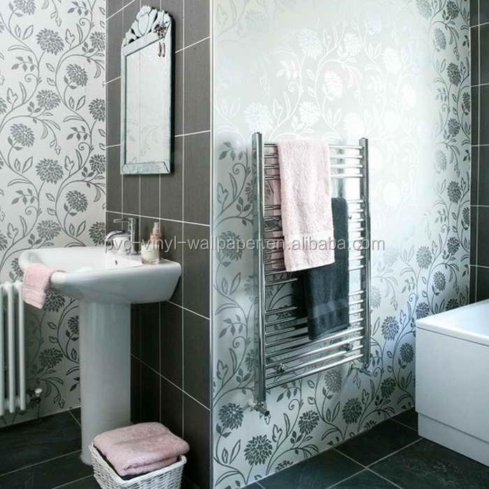 2015 New Waterproof Wallpaper For Bathrooms Vinyl