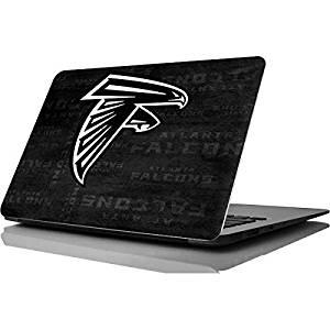 NFL Atlanta Falcons MacBook Air 11.6 (2010/2013) Skin - Atlanta Falcons Black & White Vinyl Decal Skin For Your MacBook Air 11.6 (2010/2013)