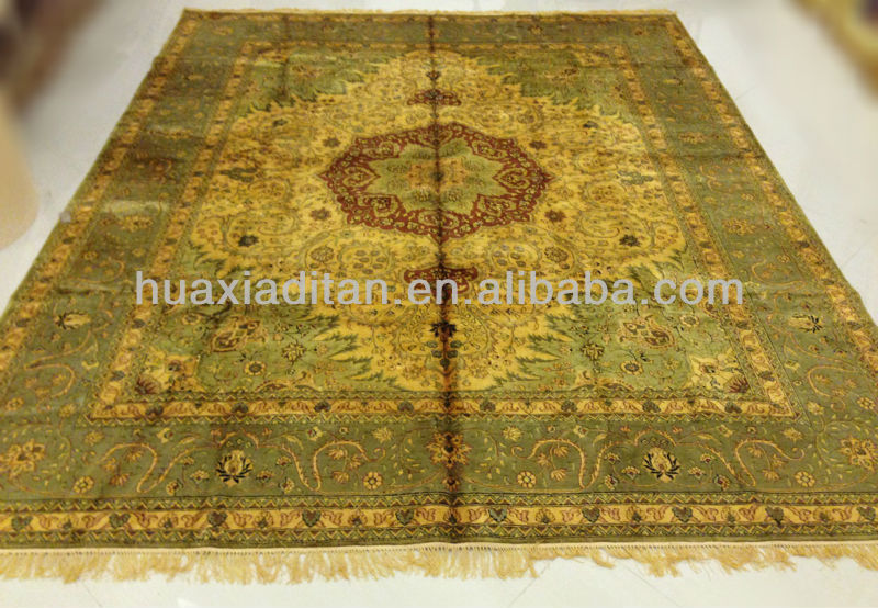 Large Rugs Hand Knotted Silk Rug In 8 10foot Sourksus