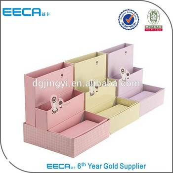 Colorful display packaging boxes shelf/paper box printing in China