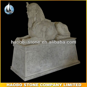Gorgeous Stone Sphinx Egyptian Statues Sculpture