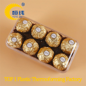 Customized compartment blister packaging tray for pineapple tarts