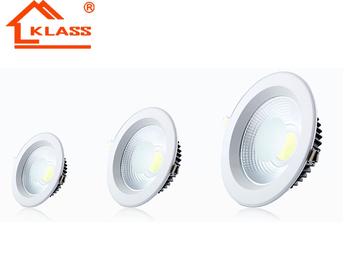 Cheap Dimmable high Quality Cutout Size 75-210mm LED COB Down Light